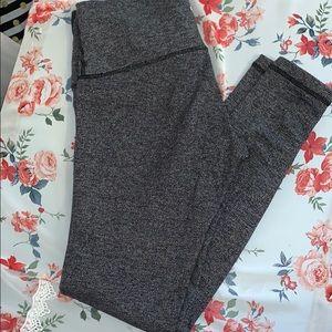Lululemon grey thick legging